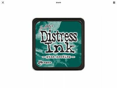 Tim Holtz Distress Ink Pad Mini Size - Pine Needles