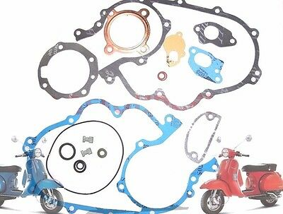 Complete Engine Gasket Kit Packing Kit 200 P 200 E Vespa Px Scooters @aud