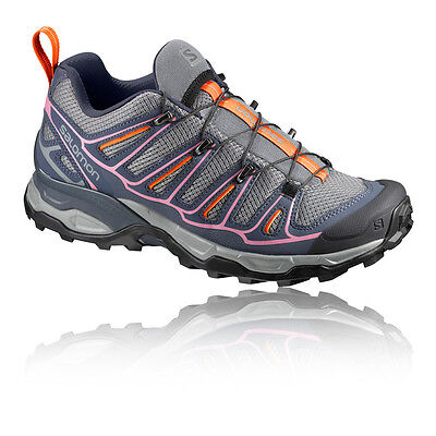 Salomon X Ultra 2 Mujer Gris Impermeable Gore Tex Caminar Hiking Zapatos