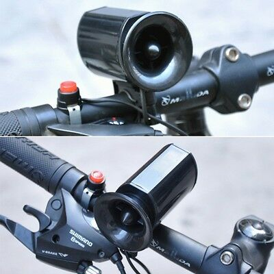 6 Sounds Electric Horn Bell Speaker Alarm Siren For Bicycle Bike Cycling New