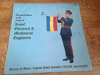 R.E.M.E. royal electrical & mechanical engineers staff band Vinyl LP