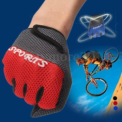 1 Pair Anti-Slip Breathable Bike Bicycle Riding Outdoor Sport Full Finger Gloves
