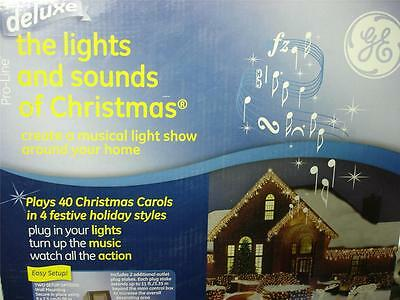 Ge Lights & Sounds Deluxe Christmas Musical Light Show