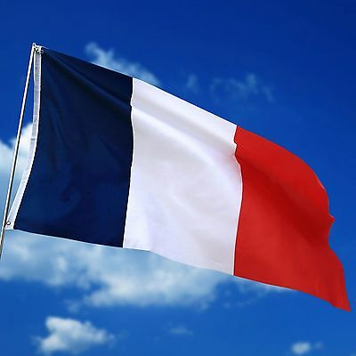 90*150cm France French National Flag Hanging Banner le drapeau tricolore 3X5FT