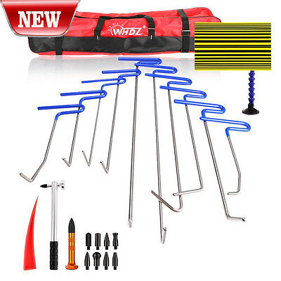 Auto Professional PDR Tools Ding Dent Repair Rods Paintless Hail Removal Kits B