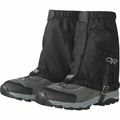 Outdoor Research Mens Rocky Mountain Low Gaiters, Black, Large/X-Large