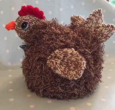 Hand knitted Chicken tea cosy