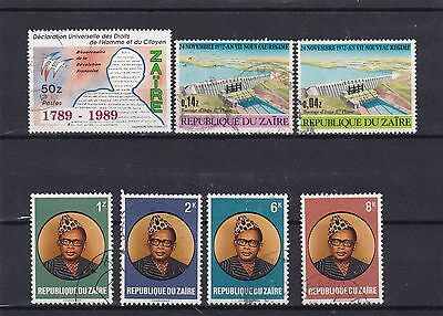 timbres congo   stamps zaire