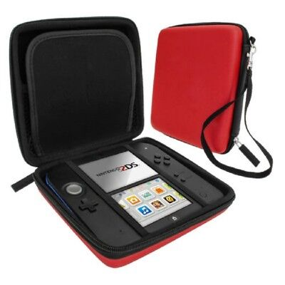 EVA Hard Carry Zip Case Storage Holder for Nintendo 2DS Video Game Console