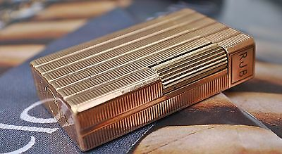 Dupont Cigarette Lighter Rose Gold Plated Spares/repairs Only!