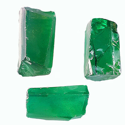 236.10 Ct STUNNING EMERALD GREEN COLOR CUBIC ZIRCONIA ROUGH LAB CREATED