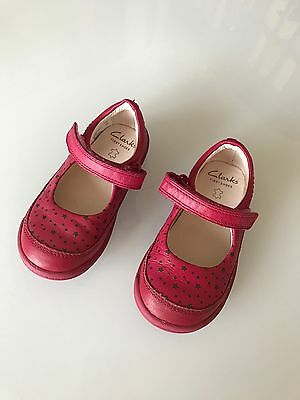 Clarks First Shoes Size 6 1/2 G