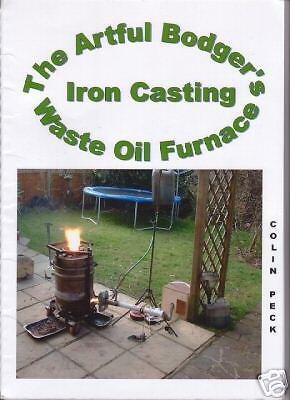 The Artful Bodger's Waste Oil Iron Casting Furnace
