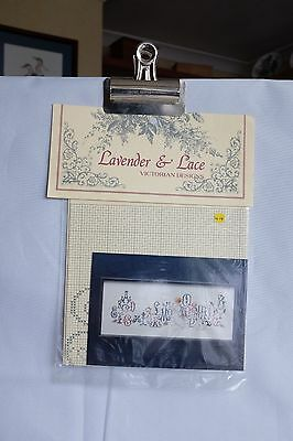 "Lavender and Lace ""Enchanted Alphabet"" Cross Stitch Pattern"