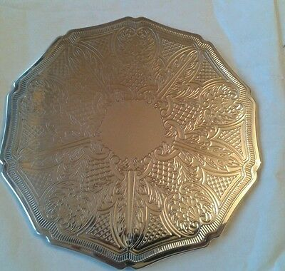 14 stunning english vintage silver plated plate place table mats