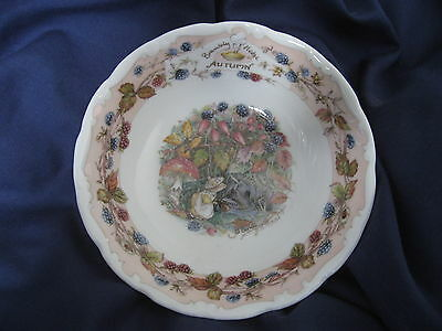 Royal Doulton Brambly Hedge - Autumn Bowl 1990