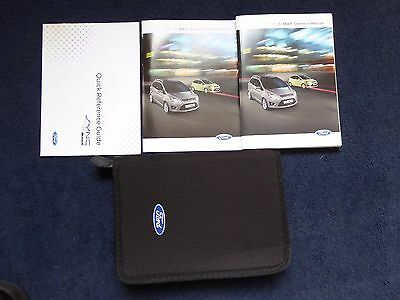 Ford C Max Grand C Max 2010-2014 Handbook Owners Manual & Wallet