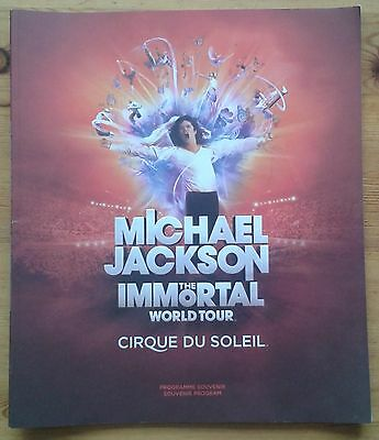 Cirque Du Soleil Michael Jackson The Immortal World Tour programme 2012
