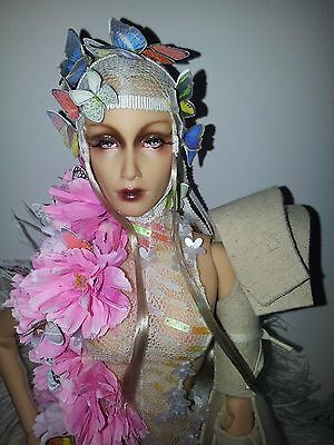 "resin sybarite doll ooak designed and repainted by ""atelier de paris"""