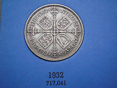 George V florins .1932 very rare great condition