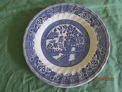 Small willow pattern Plate