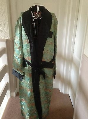 Men's Chinese Dressing Gown Size 52 Chest