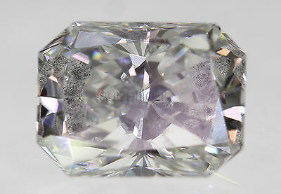 Certified 0.75 E SI2 Radiant Enhanced Natural Loose Diamond 4.67x6.19mm VG VG