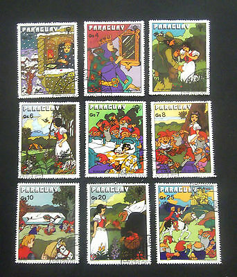 Paraguay-1978-Fairy Tale/Snow White series-Used