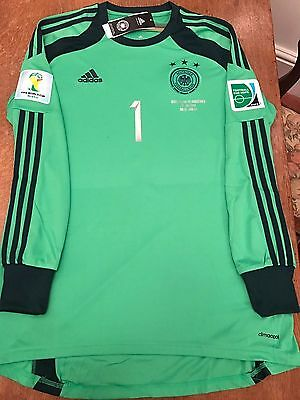 Rare BNWT Official Adidas Germany Neuer 2014 World Cup Final Mens Large