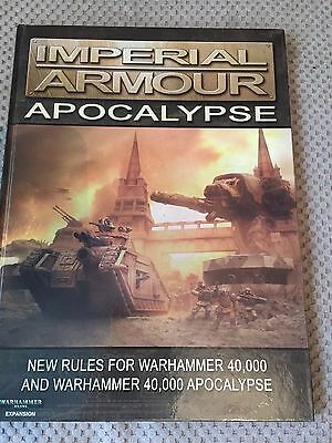 Games Workshop Warhammer 40k Forgeworld Imperial Armour Collectors Item OOP