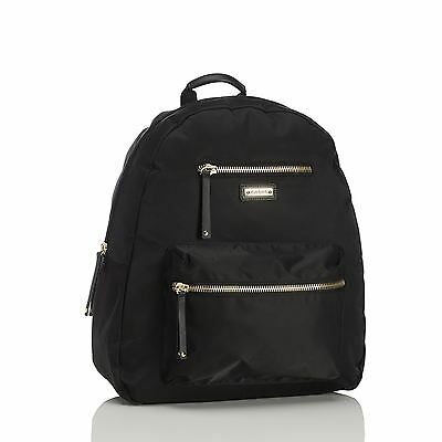 Storksak Black Charlie Baby Changing Backpack