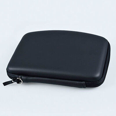 Fashion Hard Shell GPS Carry Case Bag Zipper Pouch Cover For 5Inch Sat Nav 5H1