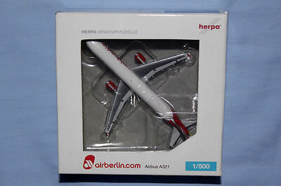 Herpa 1:500 Air Berlin Airbus A321 (502344)