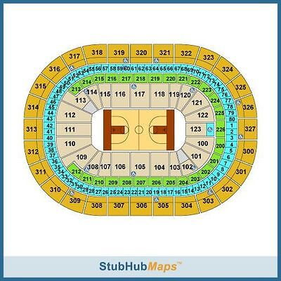NCAA Tournament - Buffalo Tickets 03/16/17 2nd session, 2 tickets  (100 level)