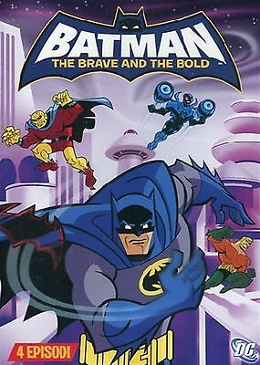 FILM DVD - BATMAN - THE BRAVE AND THE BOLD SERIE 4 - Nuovo!!
