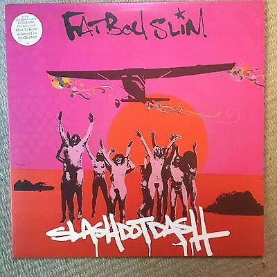 "Fatboy Slim Slash Dot Dash 12"" Vinyl Single 2004 Skint Records"