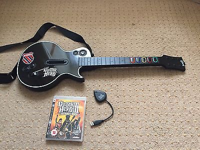 Playstation 3 | Guitar Hero 3: Legends of Rock (Incl. guitar & dongle) | PS3