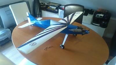 Radio Controlled Model Aeroplane with controller and accessories for sale.
