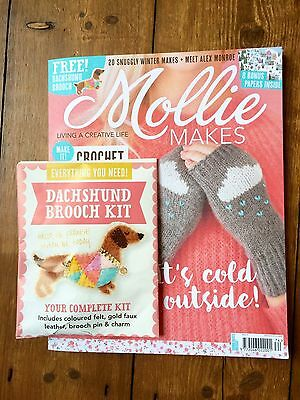 Mollie Makes Magazine With Gift Craft