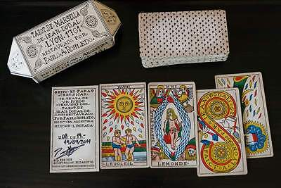Limited edition Dodal marseilles 1701 tarot by Robledo 08 of 19 (2014)