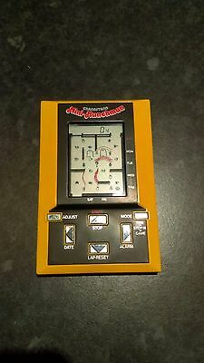 Used Grandstand Mini Munchman Handheld Game Vintage Great Condition