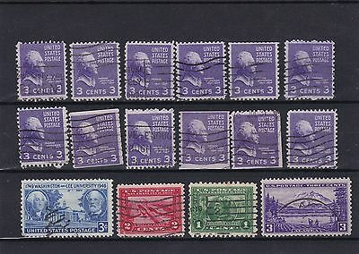 timbres usa amerique   stamps us united  states postage