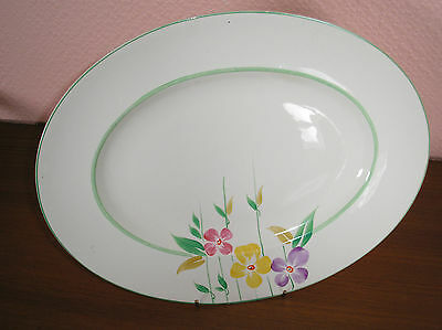 John Maddock & Sons.. Royal Ivory Floral Pattern  Large Meat Dish Md/1  Cb/1