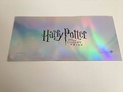 Harry Potter And The Goblet Of Fire Premiere Ticket / Invite **rare**