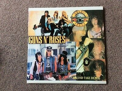 Guns N Roses Rare Double  Lp Vinyl Second Take Demos