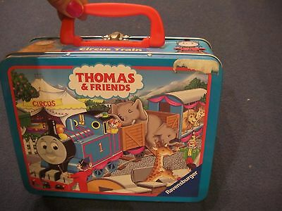 Limited 2002 Ravensburger Lunch Box Puzzle THOMAS & FRIENDS - CIRCUS TRAIN