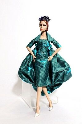 ooak outfit from atelier de paris couture for sybarite dolls and friends