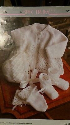 vintage baby knitting patterns 4ply