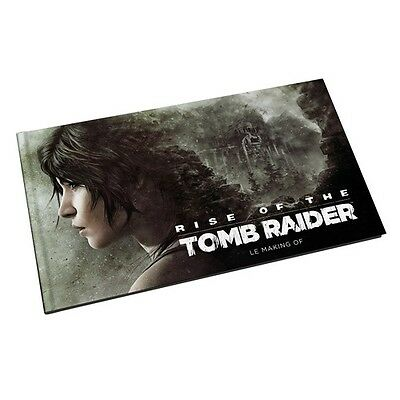 Livre Artbook / Rise Of The Tomb Raider Le Making Of