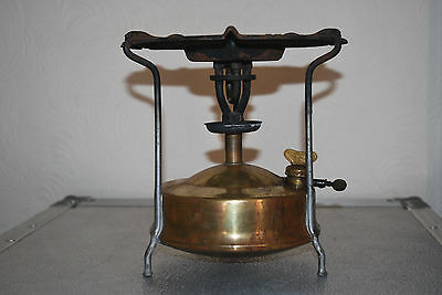 Vintage Primus Brass No 1 Paraffin Pressure Cooking Camping Stove Made in Sweden